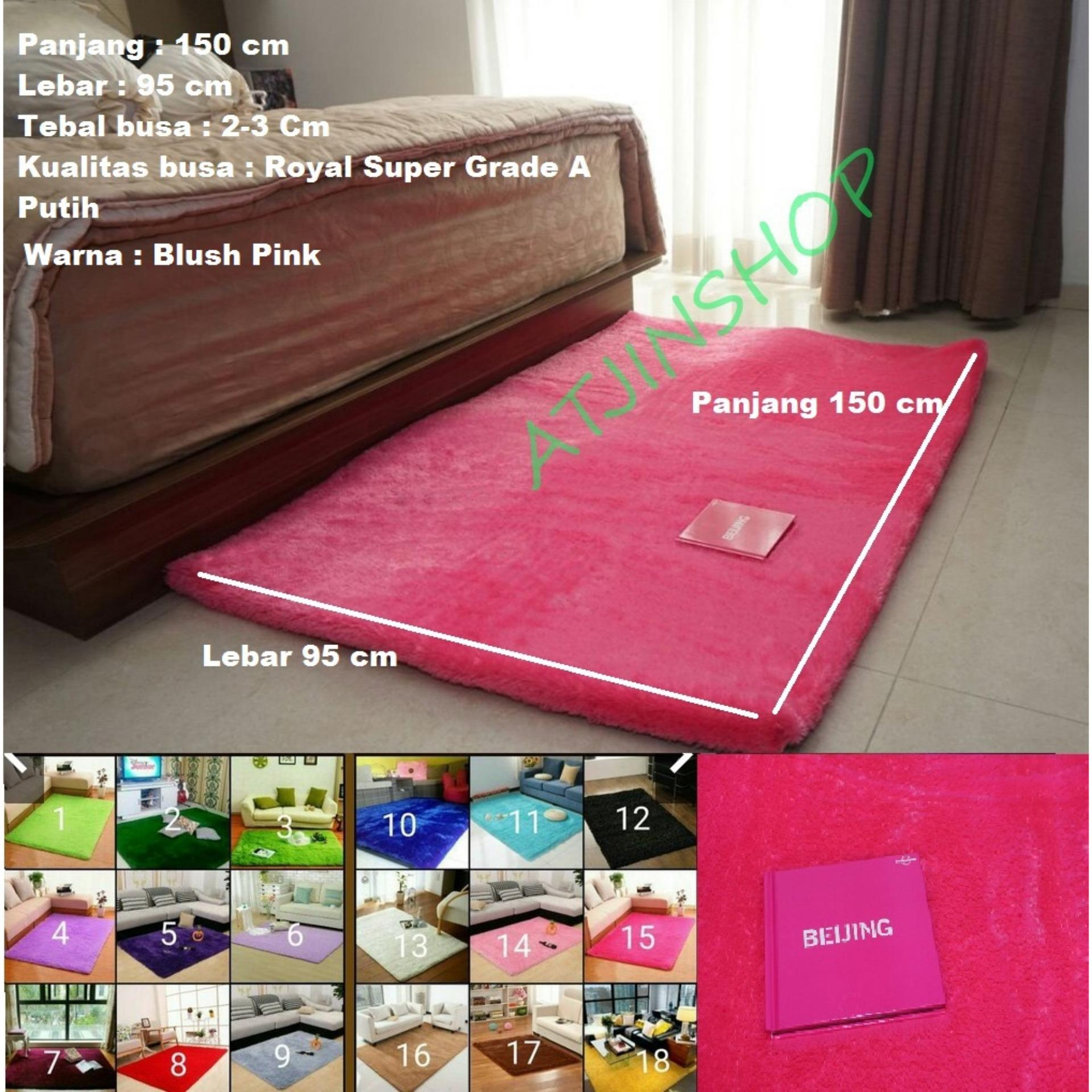 Review Tjincollection Karpet Bulu Rasfur Busa Polos Berkualitas 150X100Cm Ready 16 Warna Tjincollection Di Jawa Barat